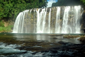 Tinuy-an Falls in Bislig City, Philippines